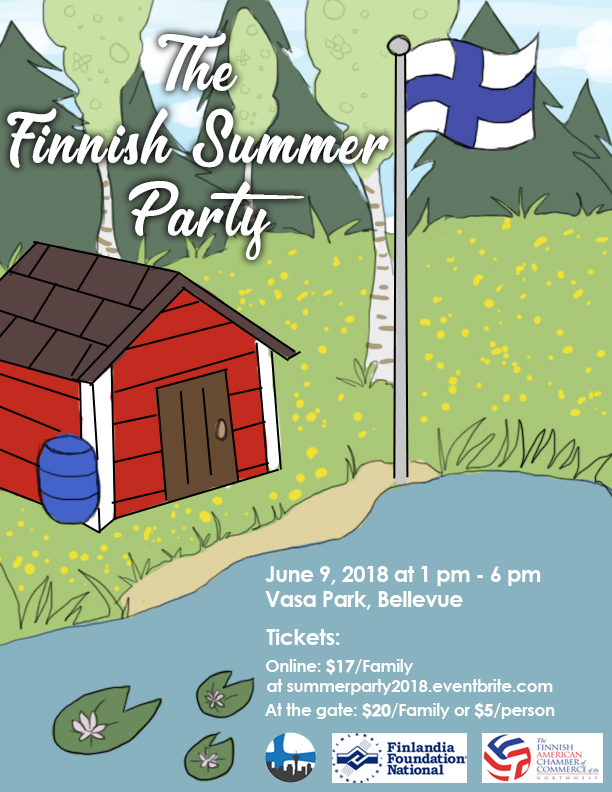 Finnish Summer Party @ Vasa Park | Bellevue | Washington | United States
