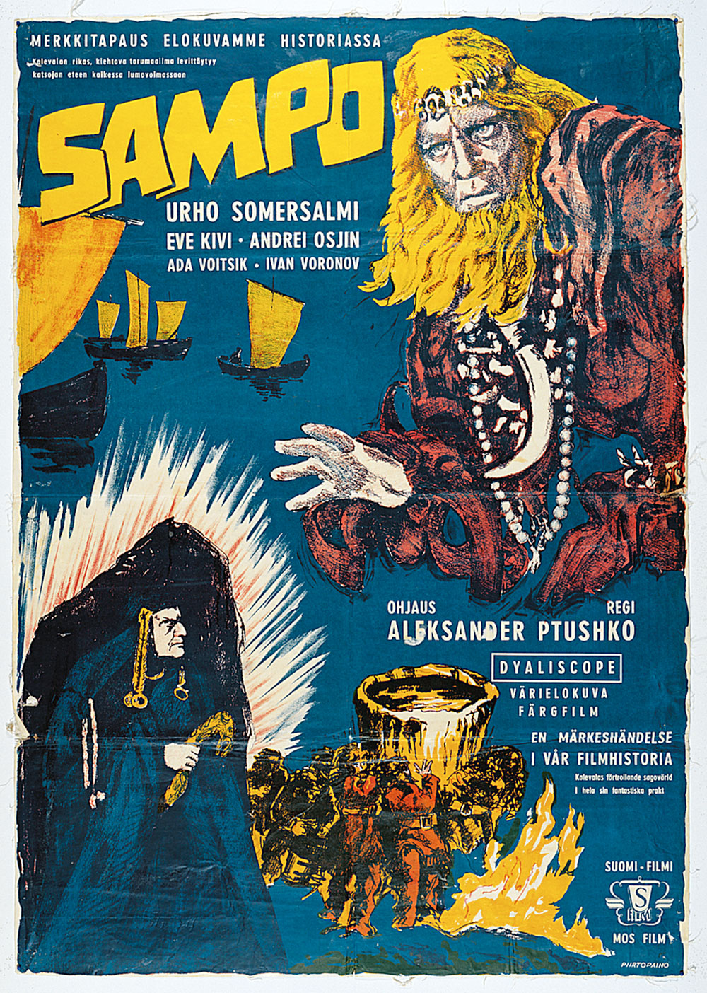 NWFF Lumberjacks and Logrollers Films: Sampo (The Day the Earth Froze) @ Northwest Film Forum
