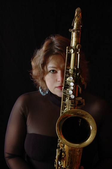 Saxophonist Juli Wood, FFN Performer of the Year @ Swedish Club